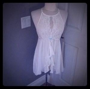 White negligee